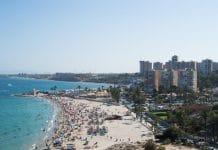 Playa de la Glea en Campoamor