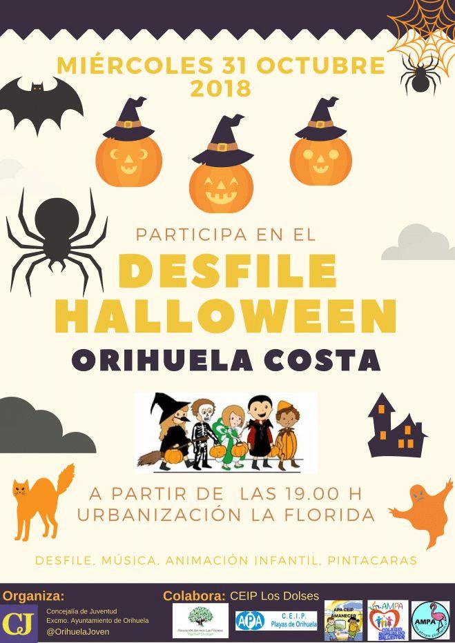 fiesta de halloween en orihuela costa